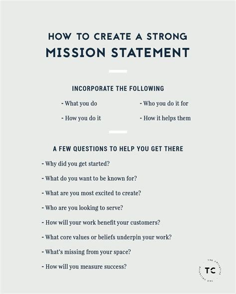 25 best mission statements ideas on creating a mission statement vision statement