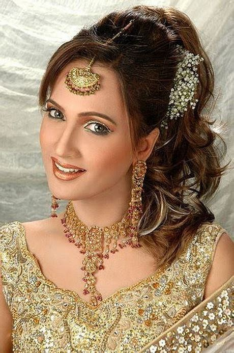 hairstyle for long face in pakistan asian bridal hairstyles 2016