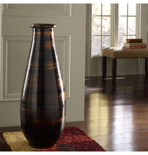 large glass vase large floor vases large floor