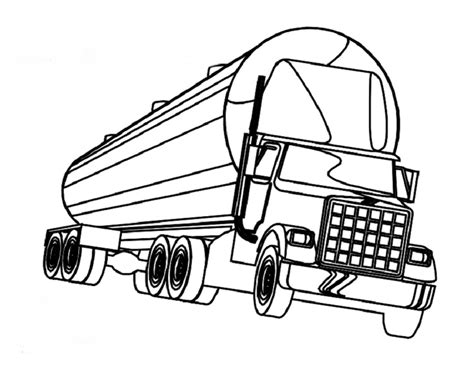 semi truck coloring pages az coloring pages