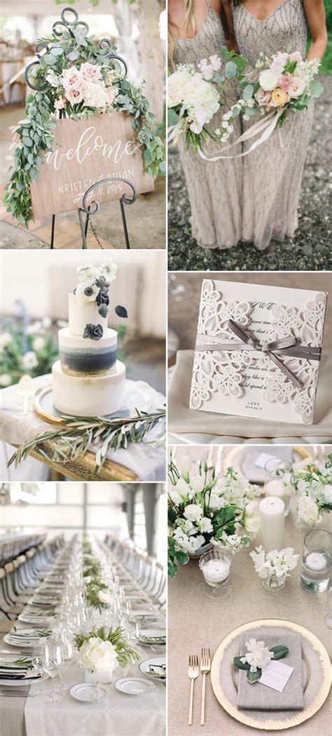 neutral wedding colors neutral wedding color ideas for 2017 trends