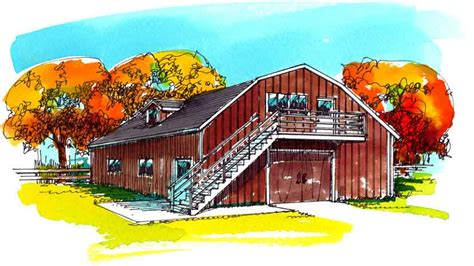 dutch gambrel dutch and gambrel barn plans livestock barn designs