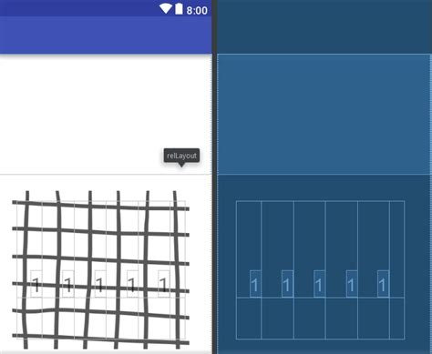 xml grid layout android responsive ui layout with grid layout stack