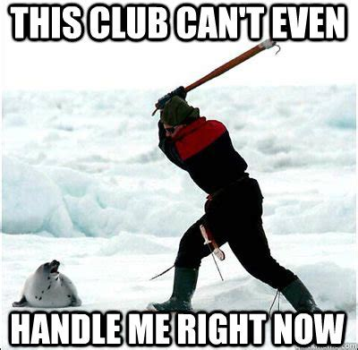 Club Meme - clubbing seal memes quickmeme