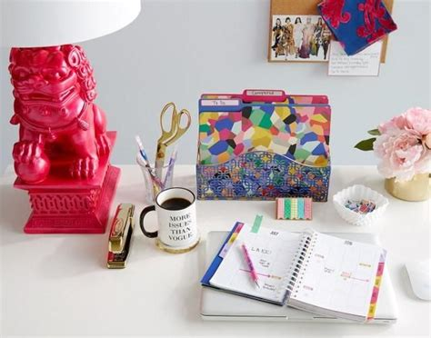 Vera Bradley Desk Accessories Tips On How To Keep Your Desk Organized Today On The Inside Stitch Vera Bradley