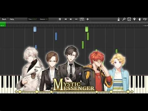 mystic messenger op english lyrics kokuriko zaka kara theme song sayonara no natsu piano