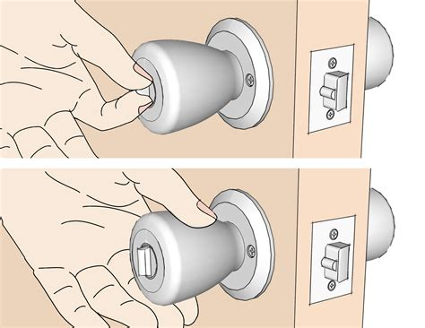 changing locks when buying a house how to change door locks with pictures wikihow