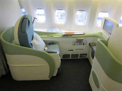korean air business class seat review review korean air 777 class tokyo narita to seoul