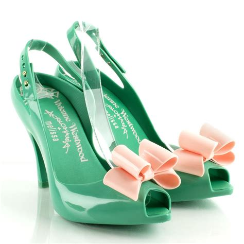 vivienne westwood shoes vivienne westwood green bow anglomania women s