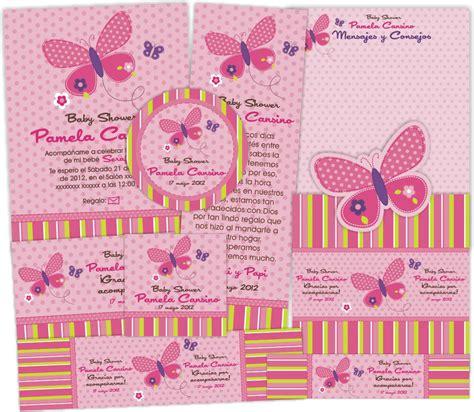 imagenes mariposas para baby shower niña invitaciones baby shower ni 209 a mariposa imagui