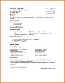 Resume Sample Undergrad by Undergraduate Resume Sample Best Business Template