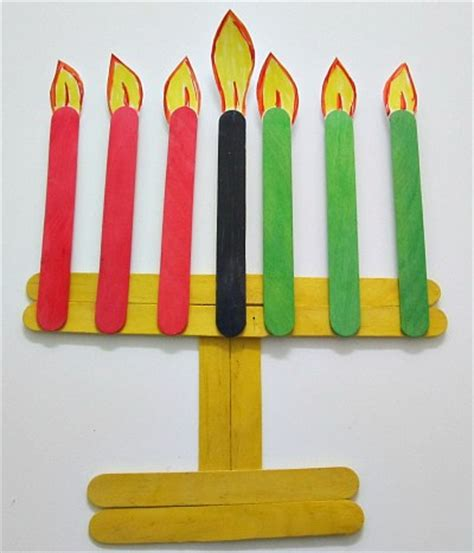 kwanzaa crafts crafts with popsicle sticks