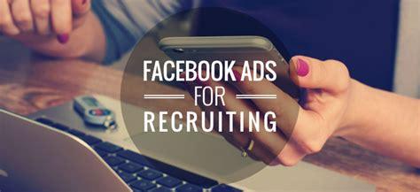 fb jobs facebook ads for hiring work4