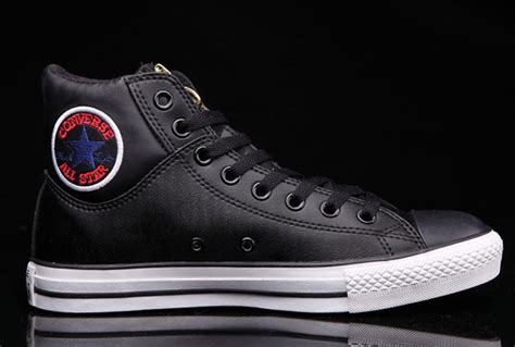 Converse Ct Kulit N Suede Size 36 44 black hi tops converse ct embroidery padded collar leather all bx57192 get stylish