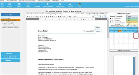 BewerbungsMaster: Programm für die optimale Bewerbung