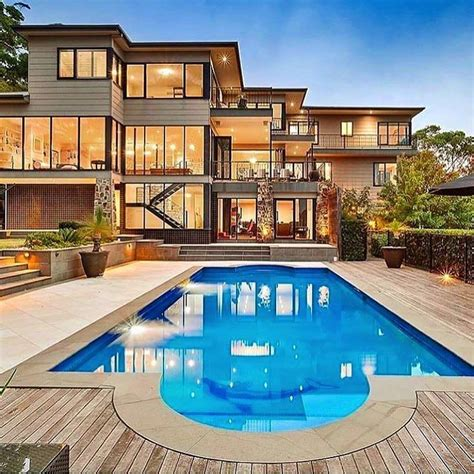 houses with pools modern mansion with pool via luxclubboutique life is