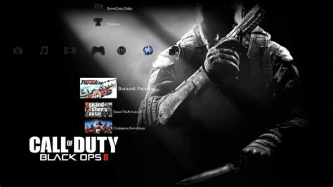 themes ps3 black ops 1 call of duty black ops ii ps3 theme hd youtube