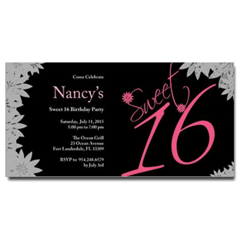 sweet sixteen program template sweet 16 birthday program template just b cause