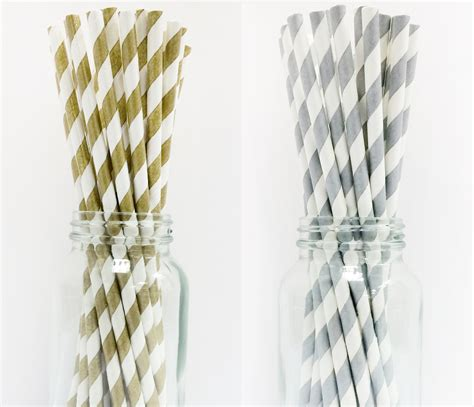 Striped Paper Straws stripe paper straws muddle me