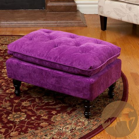 Purple Tufted Ottoman 17 Best Images About Poufs And Stools On