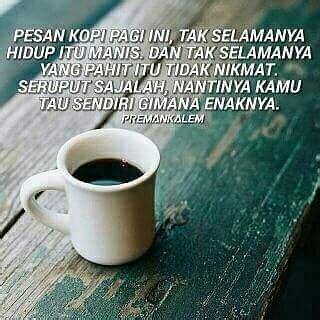 kata bijak kopi susu kata kata mutiara