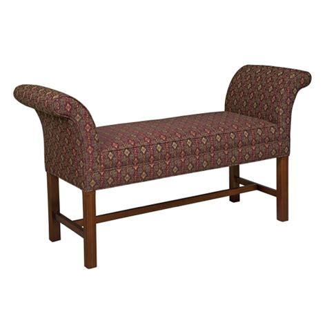 padded ottoman bench style upholstering 683 ottoman and bench collection