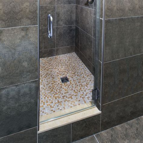 tiled showers essential water management in tiled showers schluter