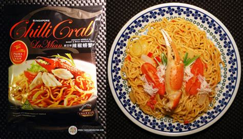 Prima Taste Chili Crab La Mian malaysia enters ramen rater s top ten instant noodles of