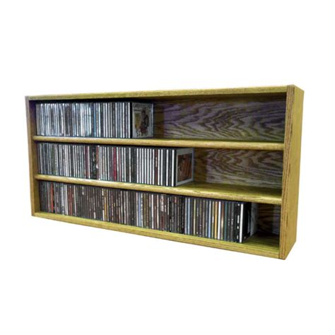 Cd Storage Rack by Wood Shed Solid Oak Cd Storage Rack 282 Cd Capacity Tws 303 3