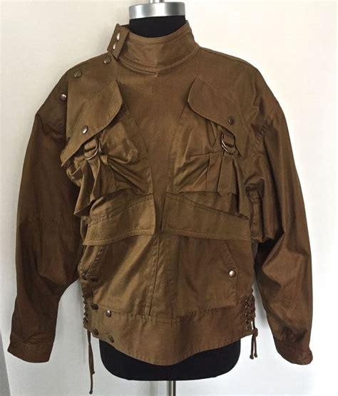 Bomber Bordir Jacket Martin Space Army vintage kansai yamamoto s flight bomber jacket mint condition