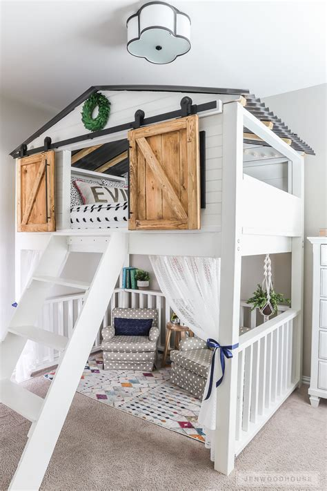 awesome diy kids bed plans bunk beds loft beds