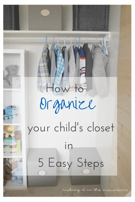 organizing challenge kids closets a 15 ways to organize your entire life for 2016 dwell