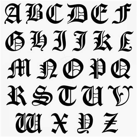 Klebebuchstaben Old English by Versalien Initialaufkleber Schriftbild Old English