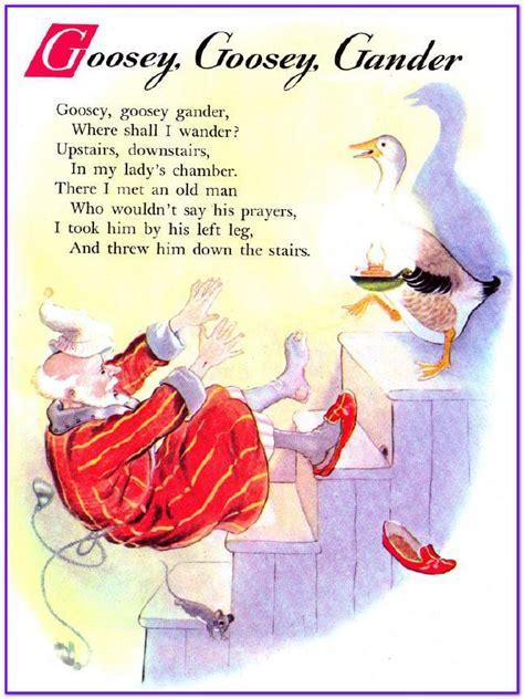 goosey books world goosey goosey gander childrens poem