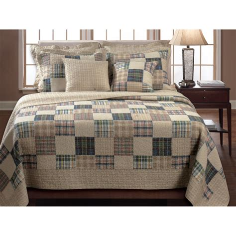 Quilts Walmart by Global Trends Ozark Bedding Quilt Set Walmart
