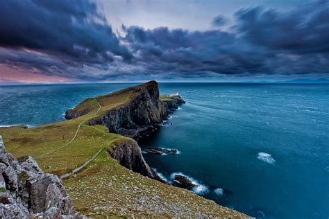 Most Popular Favorite Colors by Neist Point Isle Of Skye Scotland By Eddie Esdale