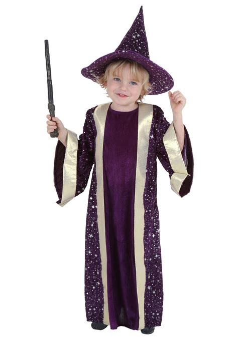 halloween costumes toddler wizard costume