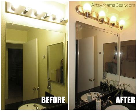 updating bathroom light fixtures 100 dollar bathroom update bathroom updates bathroom