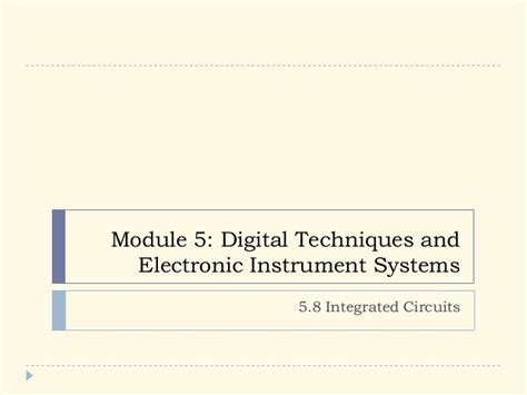 integrated circuits and digital functions pdf integrated circuits slideshare 28 images photonic integrated circuits integrated circuits