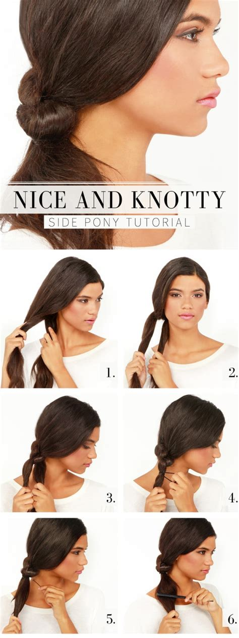 5 one minute basic ponytail 21 easy but amazing ponytail hairstyles that will