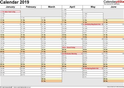 printable a4 year planner calendar 2019 uk 16 free printable pdf templates
