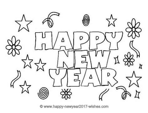printable new years quotes happy new year coloring pages printable merry christmas