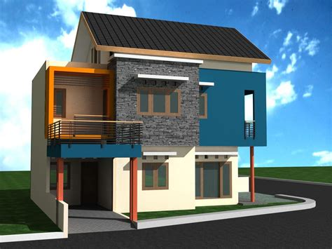 simple house design with second floor cheap price on home