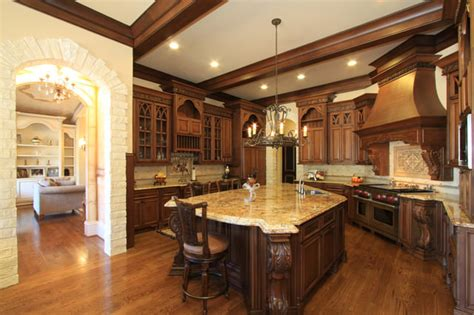 Tuscan Chandelier 27 Traditional Kitchen Designs Decorating Ideas Design