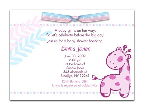 Baby Shower Email Invitations Uk by Office Baby Shower Email Invitation Wording Baby Showers