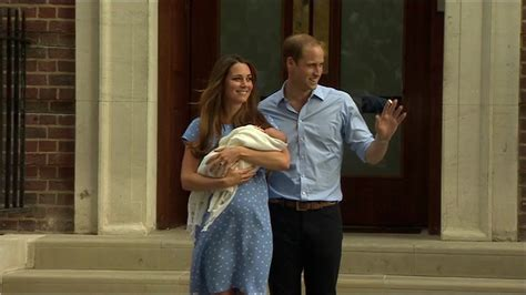 william and kate news royal baby boy leaves hospital william and kate s first