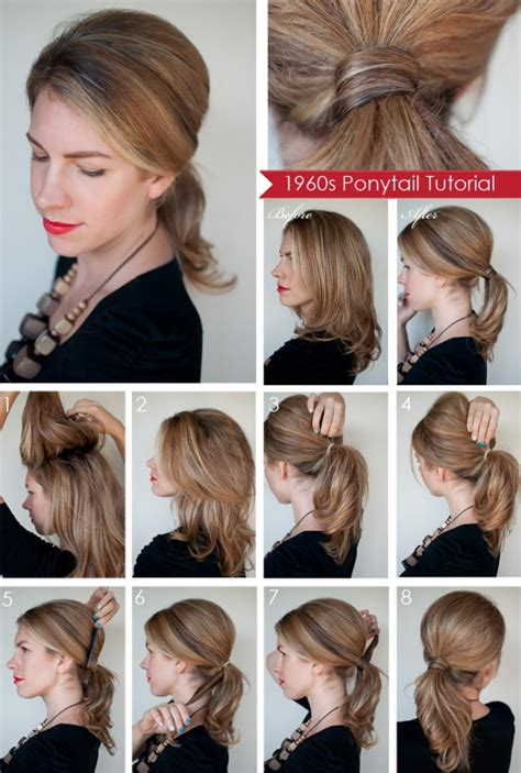 diy hairstyles ponytail 15 diy hairstyle tutorials for perfect look always in
