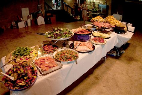 sandwich buffet menu catering your own wedding the basics forkable