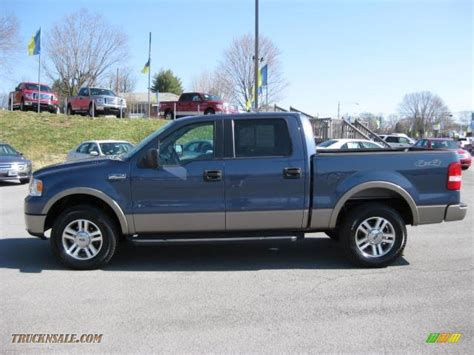 2006 Ford Truck by 2006 Ford F150 Lariat Supercrew 4x4 In Medium Wedgewood