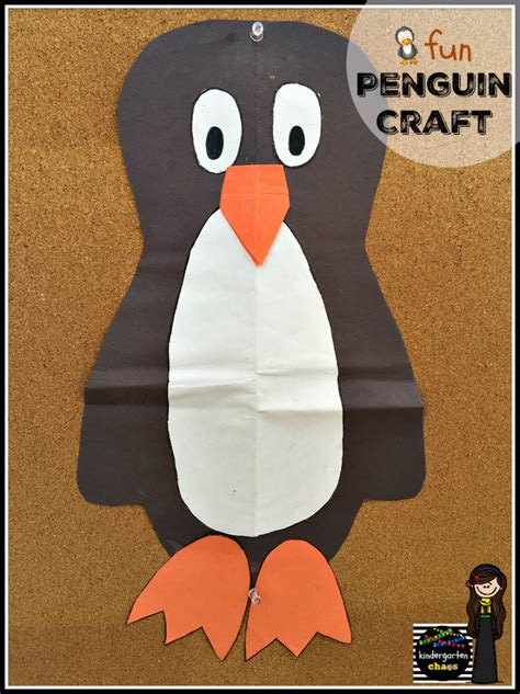 penguin arts and crafts projects penguin week in kindergarten kindergarten chaos